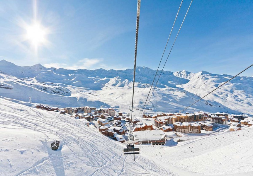 Val Thorens or the place to be on holidays